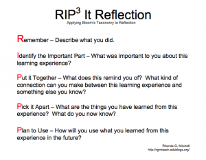 RIP3 It Reflection